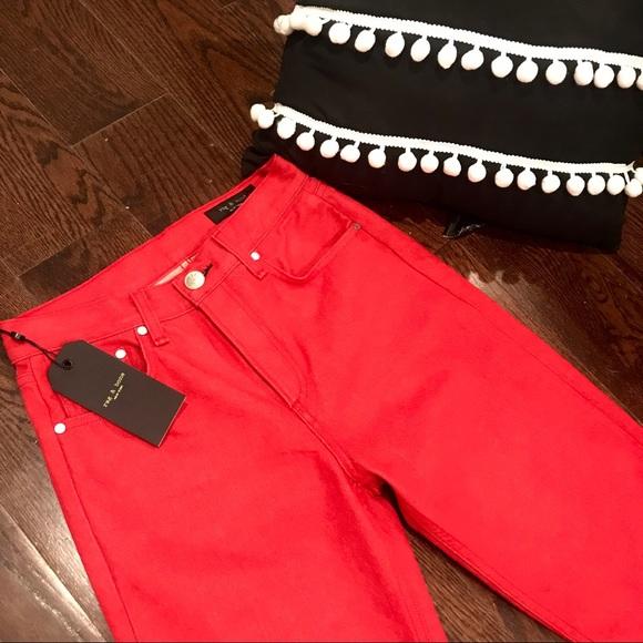 rag & bone Denim - SALE! NWT rag & bone red jeans